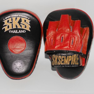 "SKS curved focus mitts ""PLV01"""